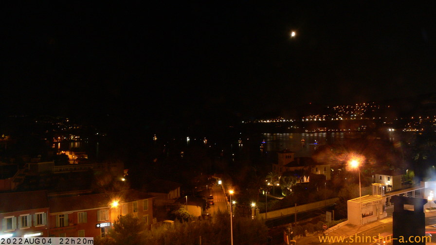 Villefranche-sur-Mer webcam - Bay of Villefranche East webcam, Provence-Alpes-Cote d'Azur, Alpes-Maritimes